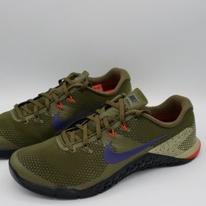 Nike Metcon 4 Cross Trainer Olive/Indigo/Black